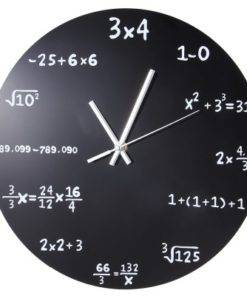 Creative Mathematics Blackboard Clock