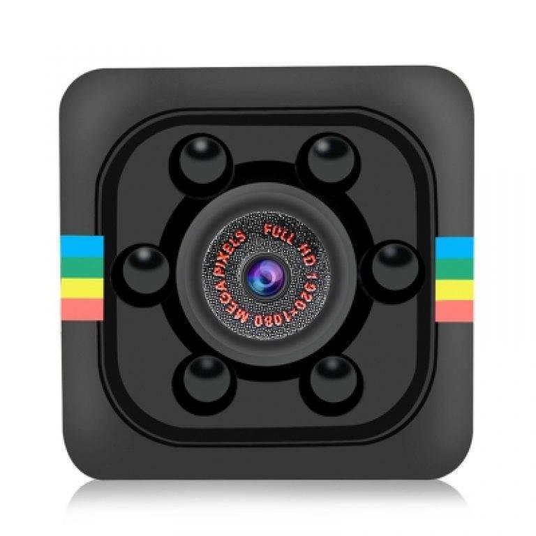 Quelima SQ11 Mini Camera 1080P HD Camcorder with Night Vision