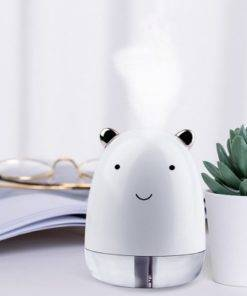7 Colors Led Cute Bear Air Humidifier