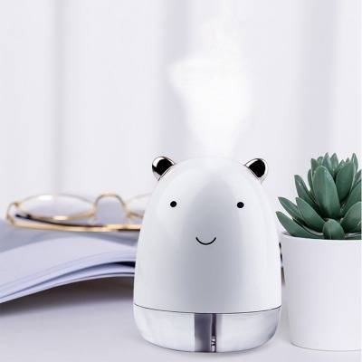 Cute Bear Air Humidifier with Colorful LED Light