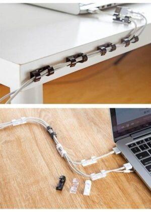 Cool Wire Organizer Plastic Clips