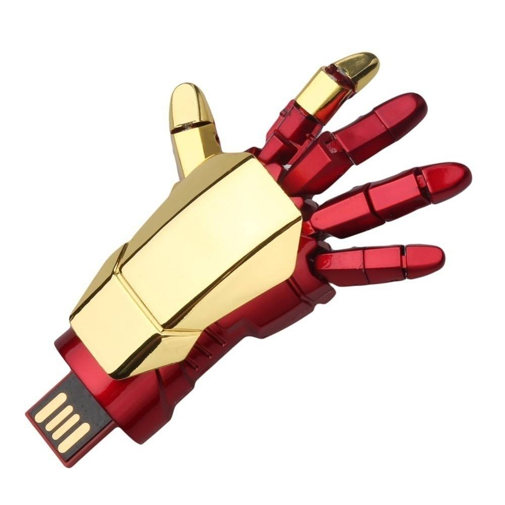 Iron man hand flash disk
