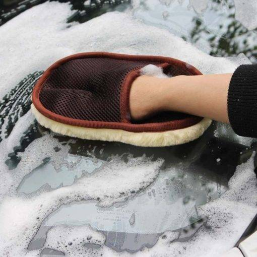 Car Care Cleaning Brushes Polishing Mitt