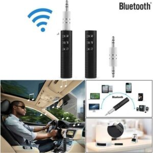 Wireless Bluetooth Receiver Car Aux Hands Free Kit