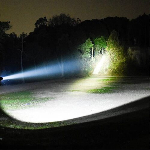 USB Rechargeable Camping Hunting LED Flashlight