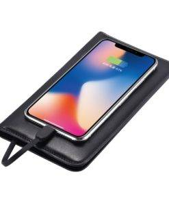 Phone Power Bank Men's Leather Wallet Card Slots Wallet