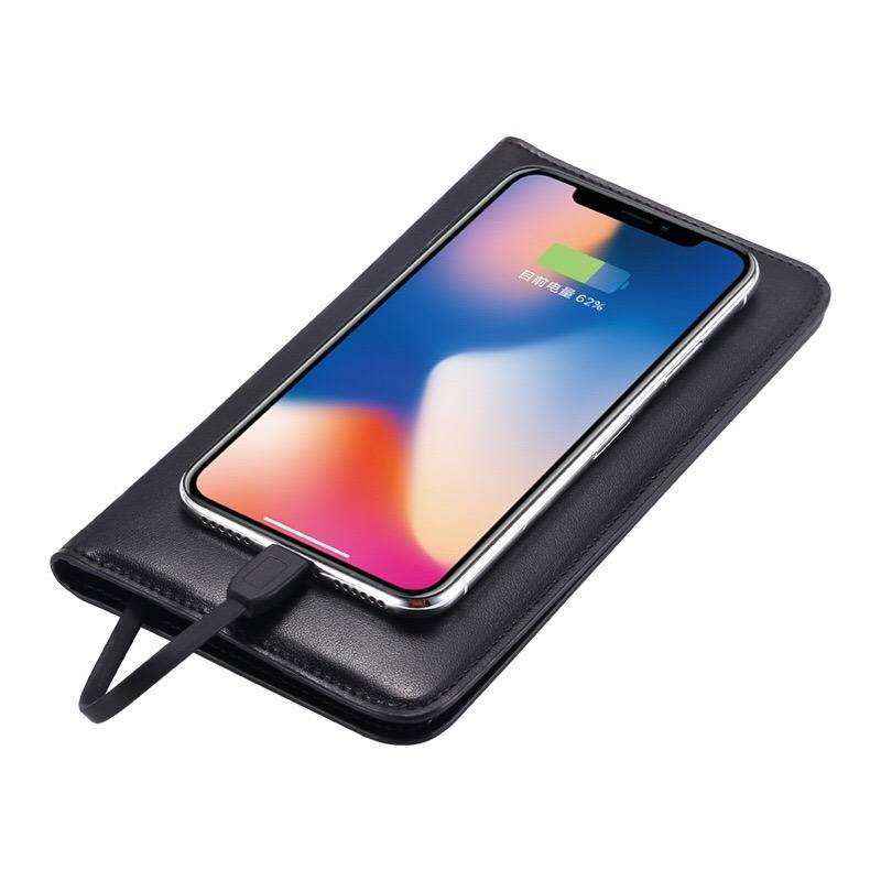 Both cable charging and smart wireless charger