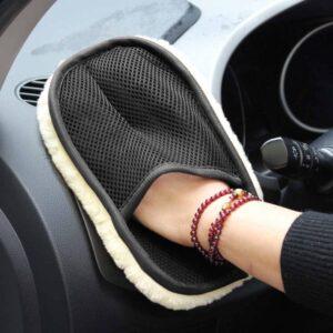 Car Care Cleaning Brushes Polishing Mitt Gadkit