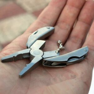 Folding Pocket MultiTool In Keychain Size