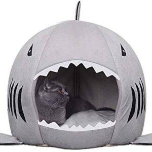 Winter Warm Shark Pet House Gadkit