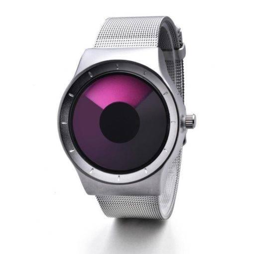Futuristic Waterproof Stainless Steel Watch For Men
