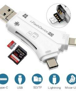 iPhone/Micro Usb/USB Type-c/USB SD Card Reader