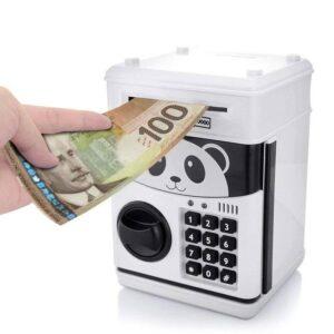 Piggy Bank Cash Coin Can