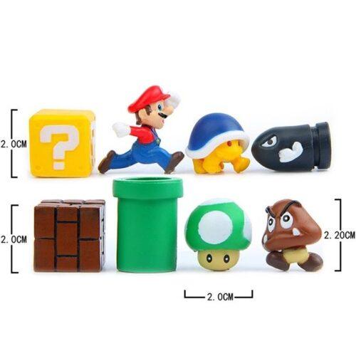 Super Mario 3D DIY Fridge Refrigerator Magnet