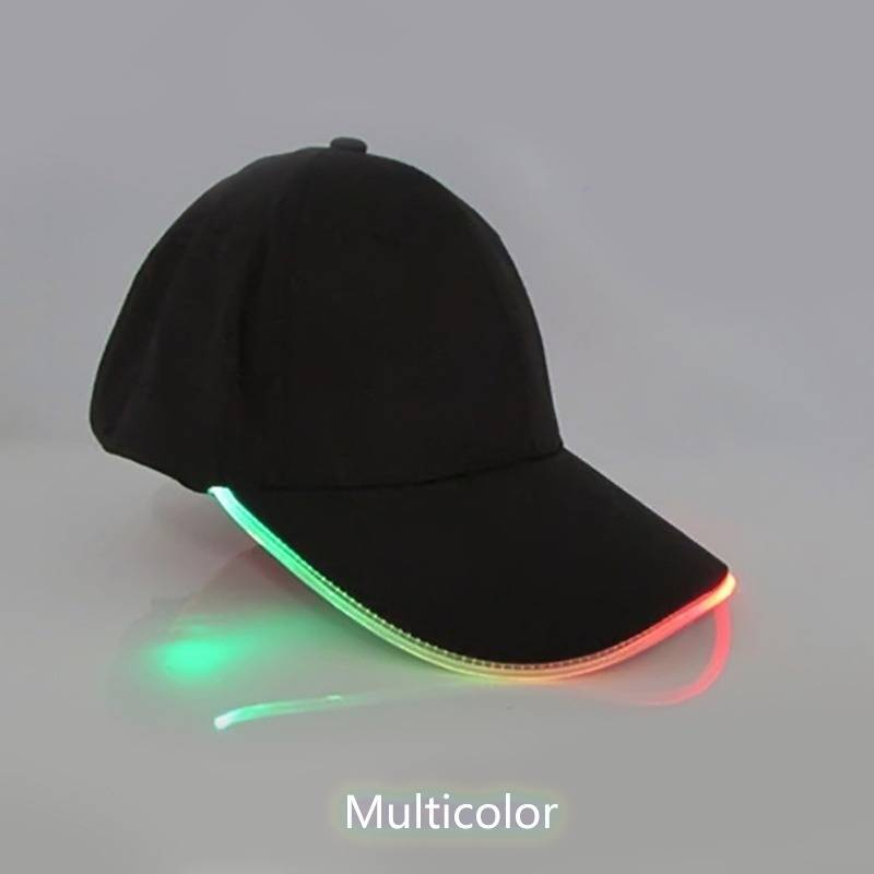 LED Light Baseball Hat