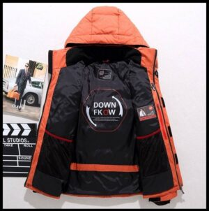 Beautiful Outerwear Hooded Snow Jacket