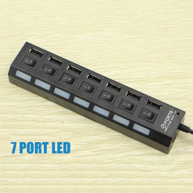Switch High Speed Data Transfer Multiple Device USB Hub