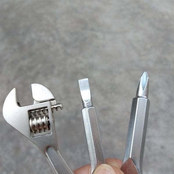 Stainless Keychain Pocket Tool Set