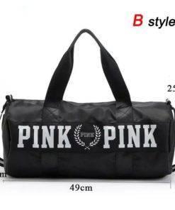 SNUGUG Outdoor Woman Gym Bag New Gym Bag Men Nylon Pink Sports Bags For Fitness Women 2 Gym Handbag - Shoulder Sport Bag