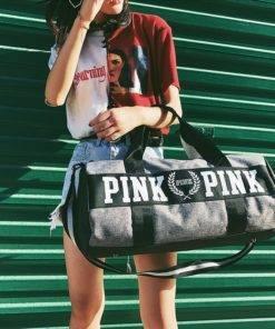 SNUGUG Outdoor Woman Gym Bag New Gym Bag Men Nylon Pink Sports Bags For Fitness Women 4 Gym Handbag - Shoulder Sport Bag