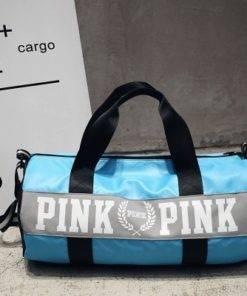 SNUGUG Outdoor Woman Gym Bag New Gym Bag Men Nylon Pink Sports Bags For Fitness Women 7 Gym Handbag - Shoulder Sport Bag