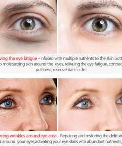 VIBRANT GLAMOUR Eye Cream Peptide Collagen Serum Anti Wrinkle Anti Age Remover Dark Circles Eye Care 3 Anti-Wrinkle Eye Collagen Serum