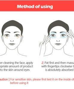 VIBRANT GLAMOUR Eye Cream Peptide Collagen Serum Anti Wrinkle Anti Age Remover Dark Circles Eye Care 5 Anti-Wrinkle Eye Collagen Serum
