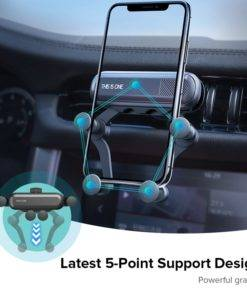 H0991de28ad7b42c3844741624d8a82abs Gravity Car Holder For Phon GPS Stand For iPhone XS MAX Xiaomi