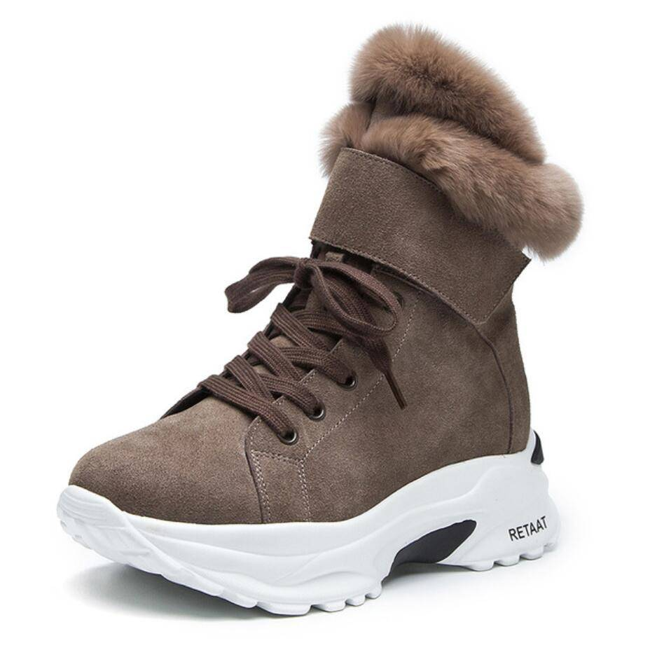 Winter Snow Short Boots For  Female