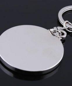 H43b1704e731d4968be6a1fe1ea0c3454H Perpetual Calendar Keychain (Silver)