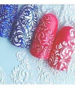 H496506546d004b1686de55cbbea950d8W 3D Acrylic Art Engraved  Nail Sticker