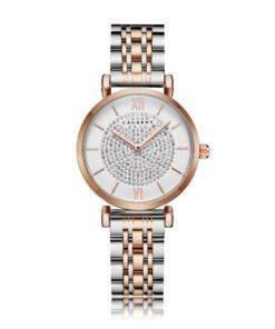 H5d768921b19342edb3a1302cf390e8e7s Silver Rose Gold Stainless Steel Bracelet Watch For  Women