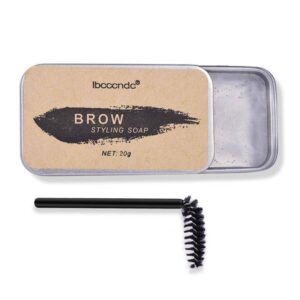 Eyebrow shaping soap, colorless, odorless, transparent, unlike ordinary soap