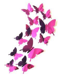 H5ea234de87724b20a2f32395cc65eb9eh Butterfly Wall Stickers