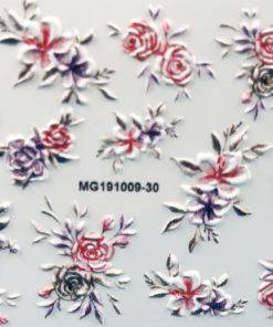 H62cc6cc129af432d99b42a9e1ece5db1v 3D Acrylic Art Engraved  Nail Sticker