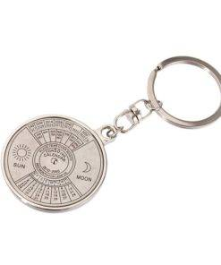 H6892a45f6fc641ab956614a11876026fk Perpetual Calendar Keychain (Silver)