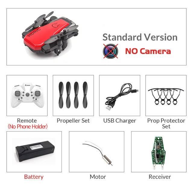 Foldable Mini Drone With RC Quadrocopter + Camera