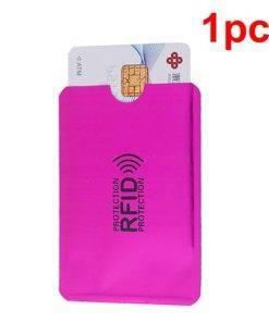 H7097b827442a4de690da09389a6d5408b Wallet Blocking Reader Lock Bank Card Holder