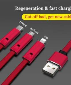 Reusable  Quick Repair Puncture Charging Cable