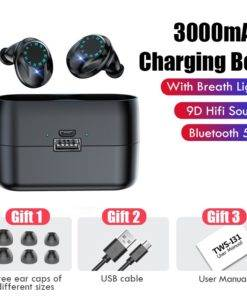 H898eef8ea04d45478e2d2959180e4bdfr Waterproof  Wireless Headphones   - Touch Control Earbuds with Microphone