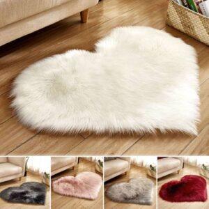Fluffy Rugs Anti-Skid Home Bedroom Carpet Floor Mat