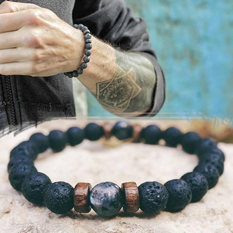 Natural Moonstone Couples Distance Bracelet