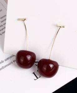HLB1sItxM6TpK1RjSZKPq6y3UpXag Cherry Earrings - Fruit Earings