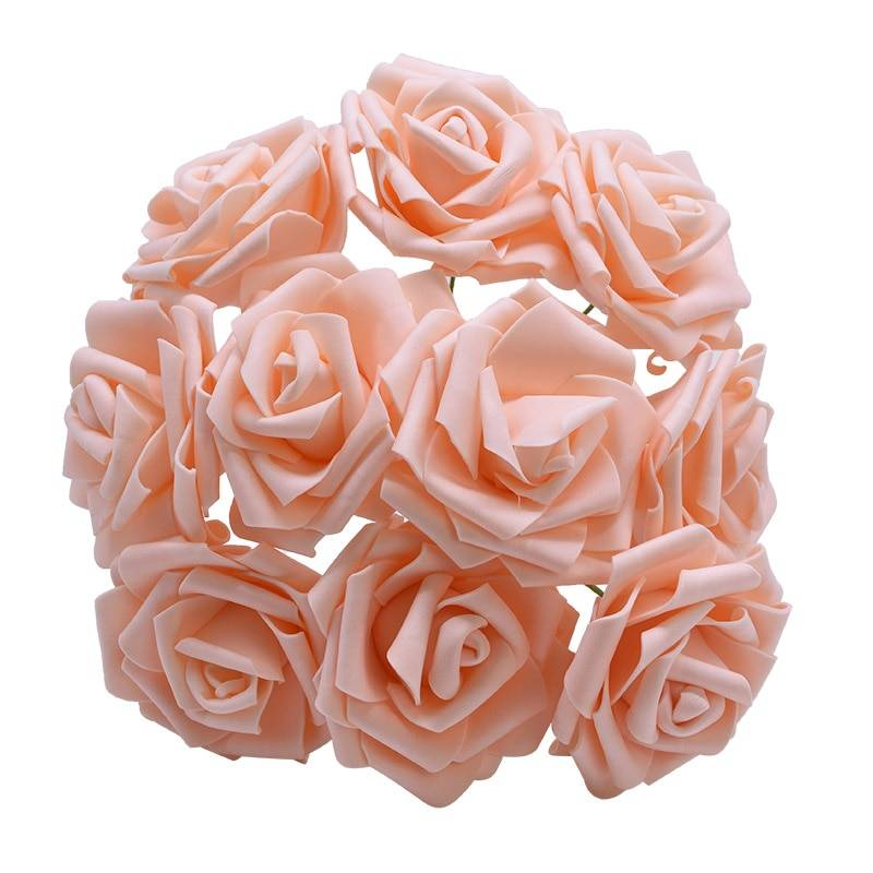 Rose Flowers Bride Bouquet  – Home Wedding Decor