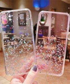 HTB19ozXVSrqK1RjSZK9q6xyypXaT Epoxy Star Transparent PhoneCase For iphone