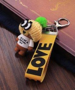 HTB1AdosP3HqK1RjSZFgq6y7JXXa9 Very Cute Teddy Bear Keychain