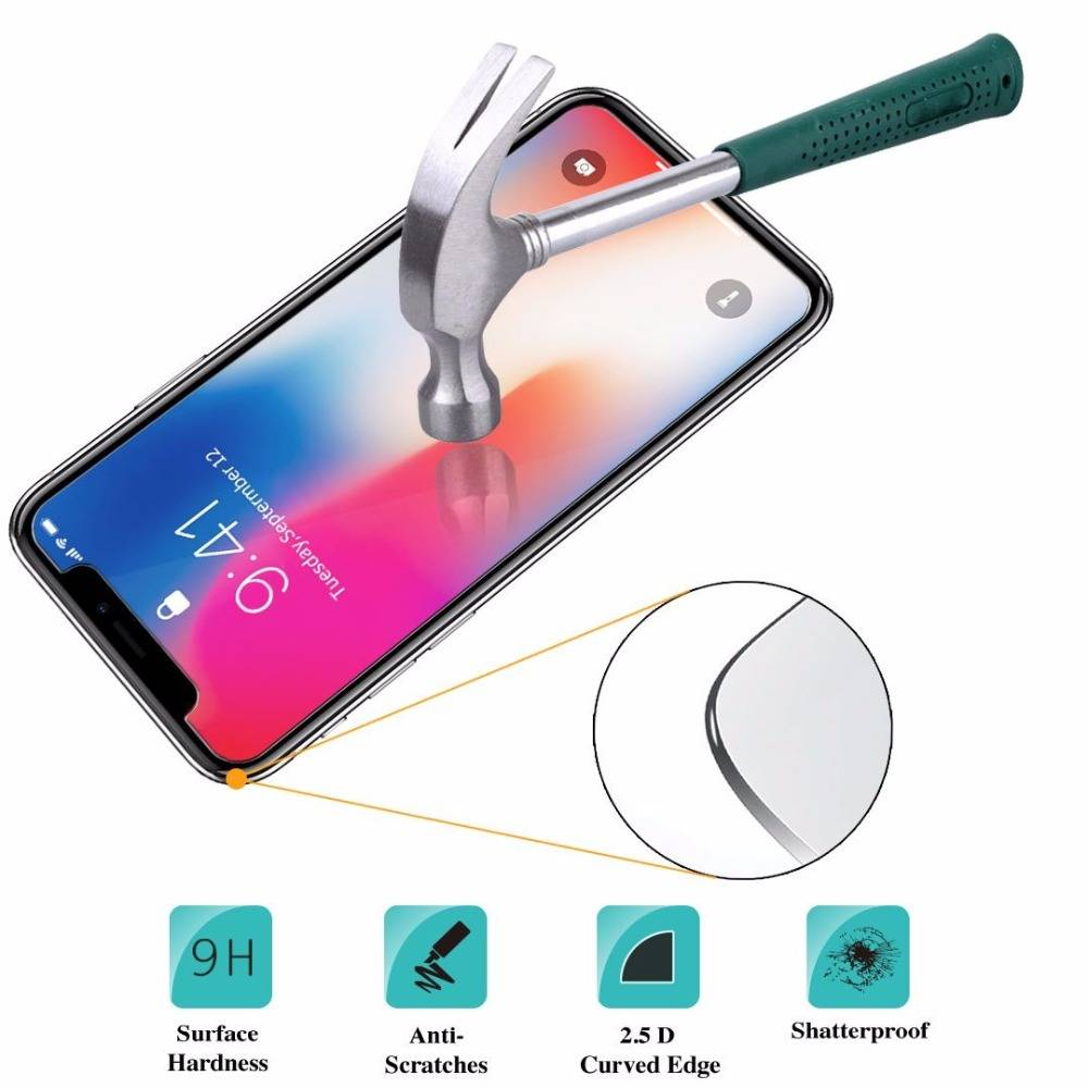 9H HD Tempered Glass For iphone  – Screen Protector Pro glass