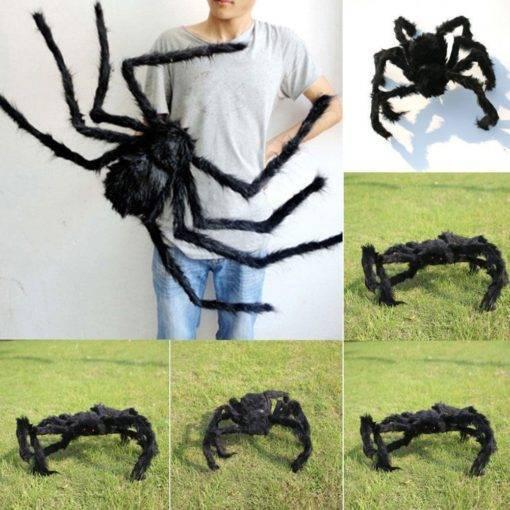 Big Black Spider – Cool Halloween Decor