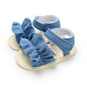 Summer Baby Sandals for Newborn Girls