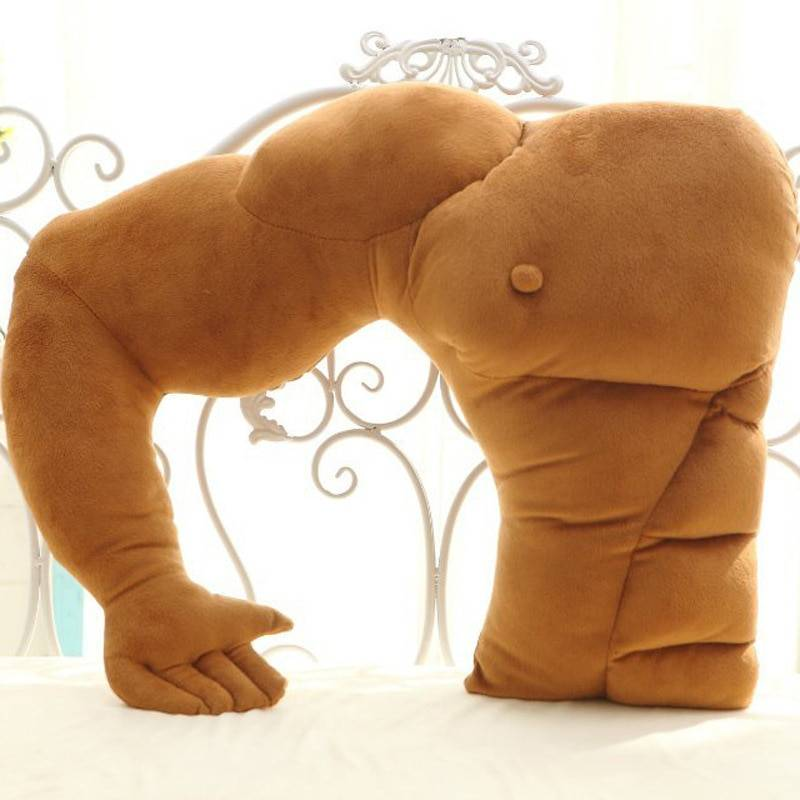 Boyfriend Pillow – Keep Your Boyfriend With You (Muscle male pillow 58x48cm)
